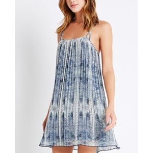 Pleated Strappy BCBgeneration Dress